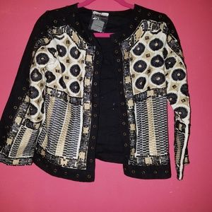 Zara beaded jacket